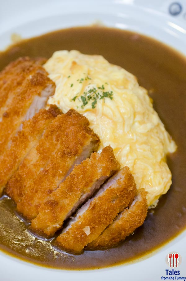 Coco Ichibanya Estancia Capitol Commons Pork Cutlet Omelet Curry