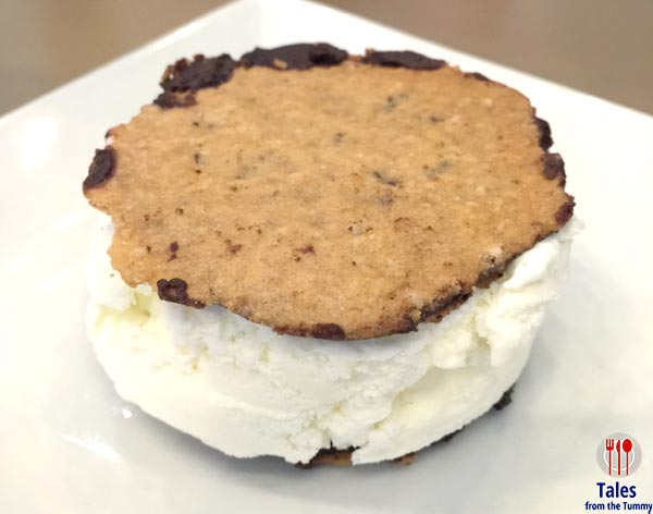 Habitual Coffee Lace Cookie Ice Cream Sandwich