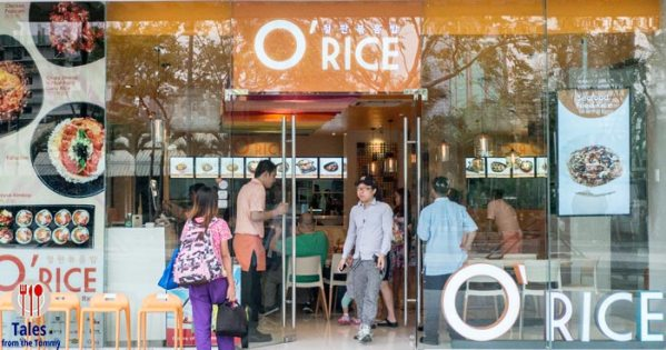 Quick Korean Meals at O Rice in Forum BGC