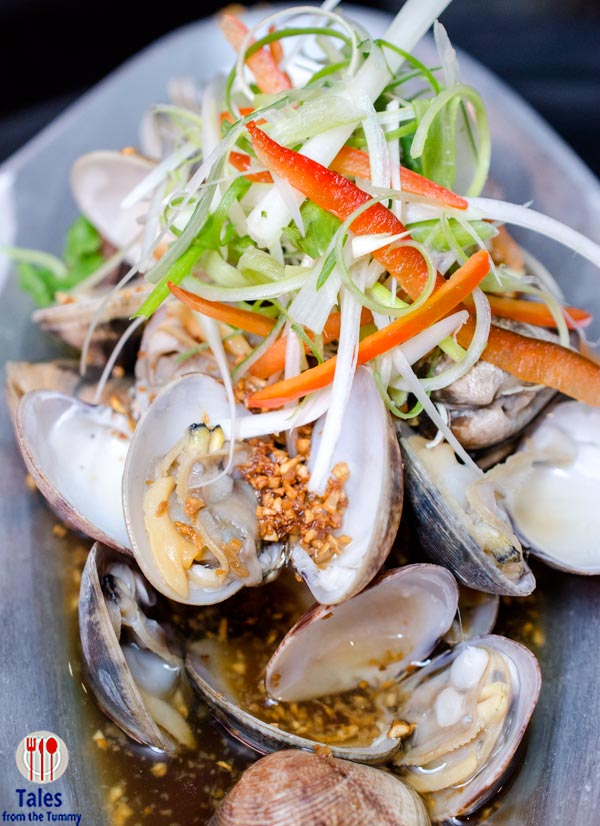 Ming Kee Live Seafood Restaurant Clams with Homemade Sauce