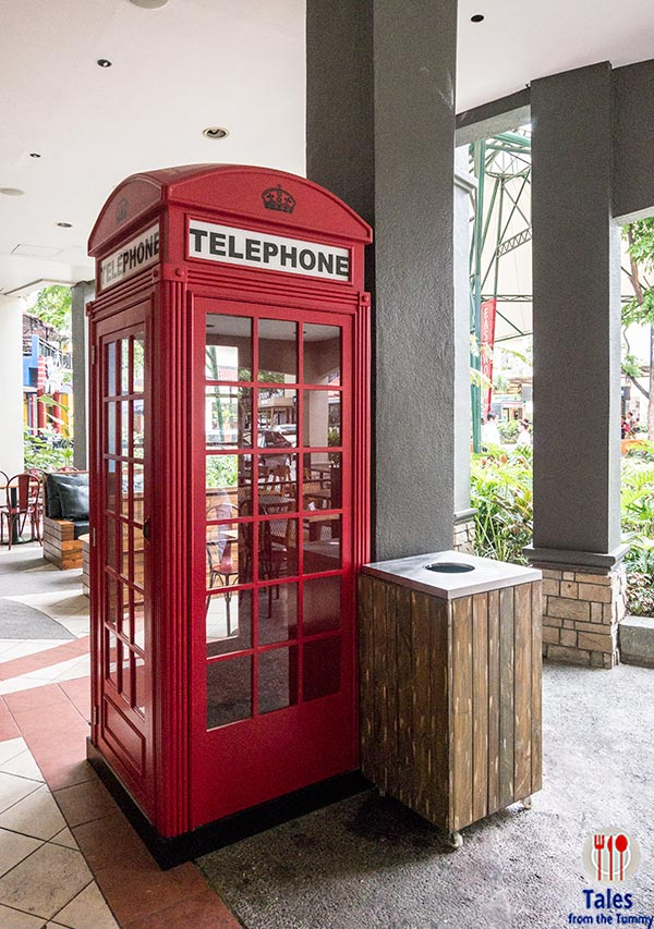 Costa Coffee Philippines Phone Booth