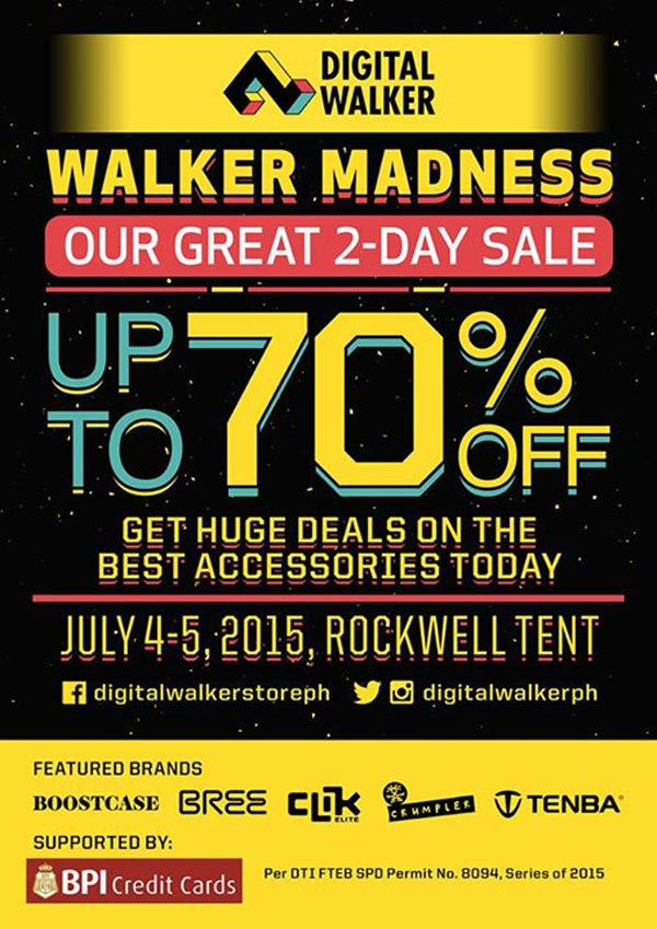 Digital Walker Sale