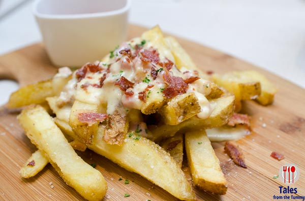 Magnum Cafe Bacon Fried Fries