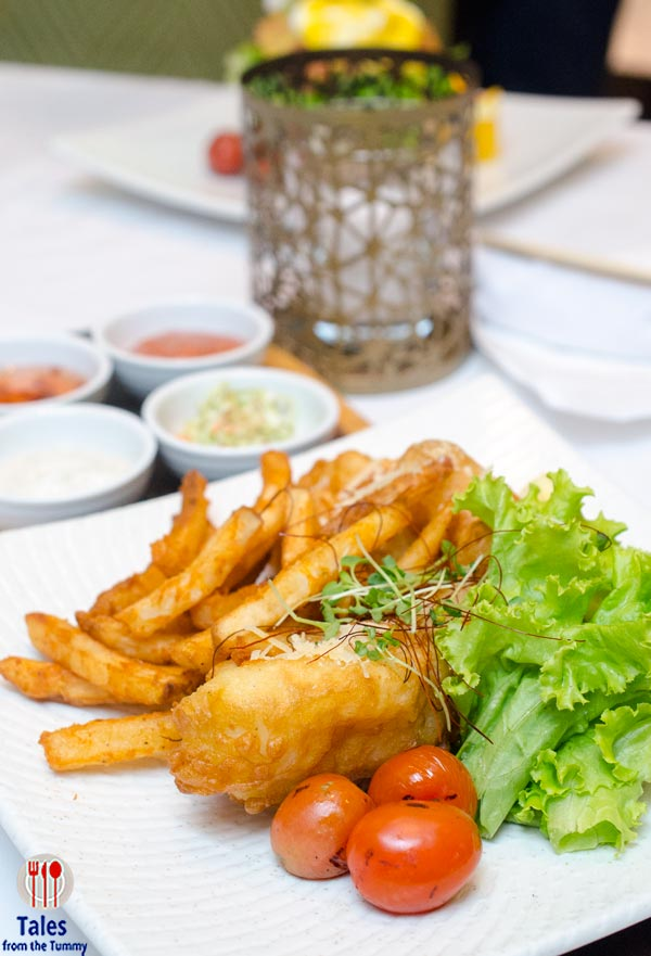 Museum Cafe Greenbelt Fish and Chips