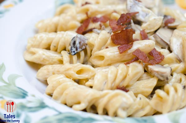 The Frazzled Cook QC Truffle Pasta