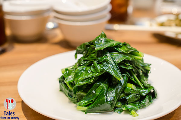 Din Tai Fung PH Stir Fried Organic Kale