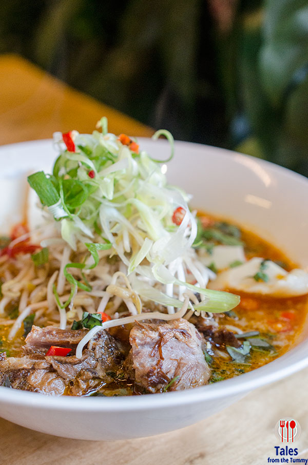 Fire In The Hole Thai Red Curry with Braised Pork Rib