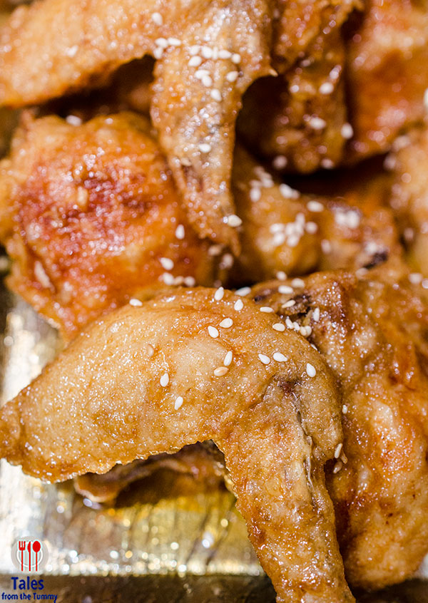 Sweet Ecstasy Katipunan Soy Honey Wings
