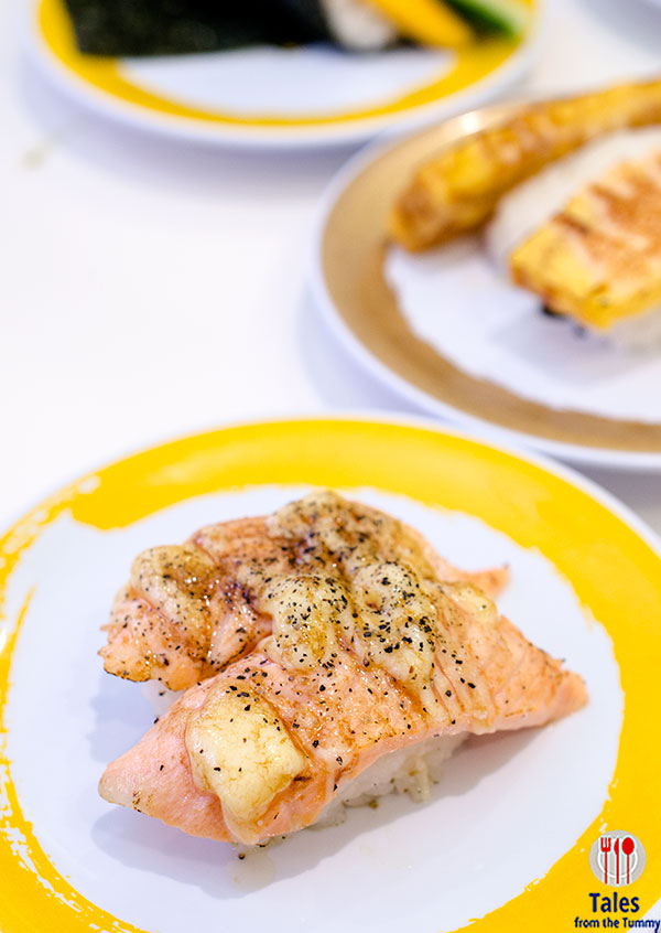 Genki Sushi BGC Seared Salmon with Black Pepper