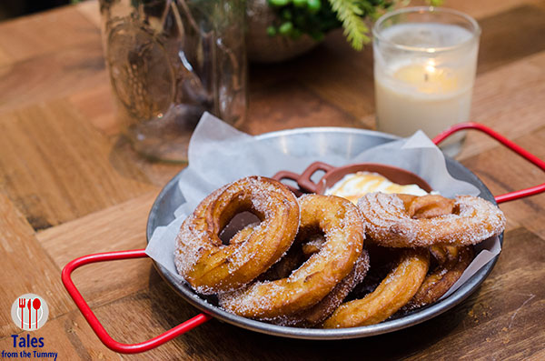Cafe Enye Churros with Dulce de Leche Cream