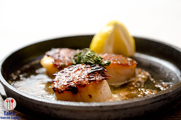 Ruby Jacks City of Dreams Sizzling Scallops
