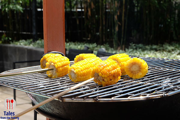 Spectrum Sunday Brunch at the Ranch Grilled Corn Cobs