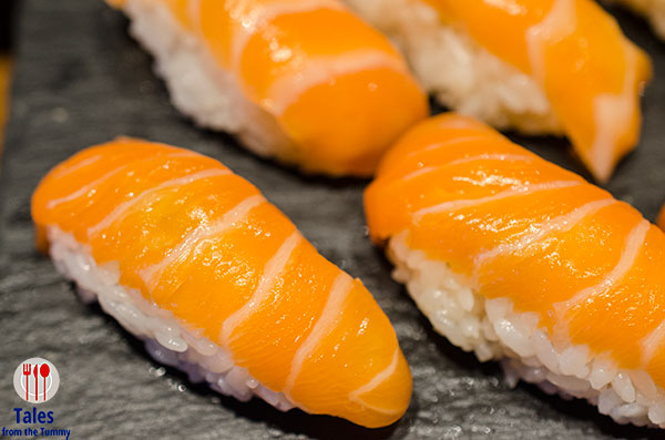 Nobu Manila Sunday Brunch Salmon Sushi