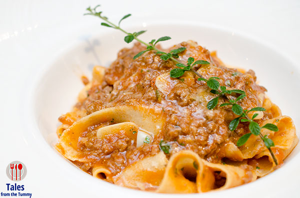 Taza Fresh Table Papardelle Bolognese