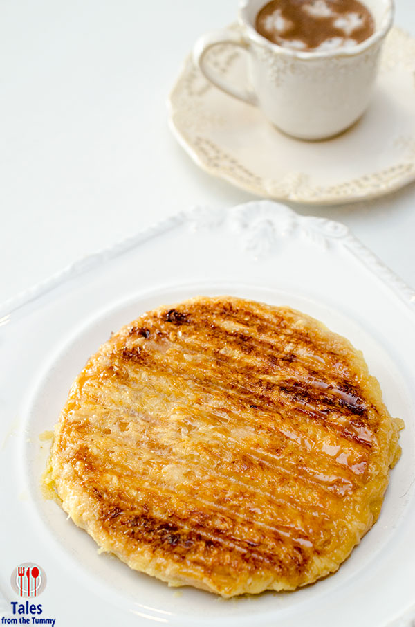 Park Avenue Desserts Grilled Ensaymada with Hot Chocolate