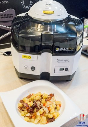 Delonghi Multifry and South West Potato Hash