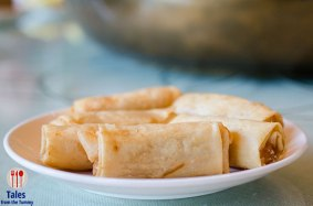 Shrimp Cheese Spring Rolls