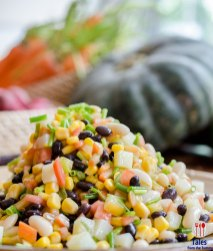 World Food Day 2018 Makati Shangrila Corn Salad with White and Black Beans