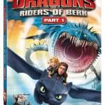Dragons: Riders of Berk Volumes 1 & 2 DVD