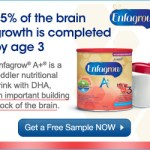 Free sample of Enfagrow Canada