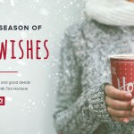 Share your #WarmWishes with Tim Hortons & you can win!
