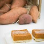 Sweet Potato Shortbread Bars #switchtosweet