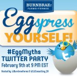 Burnbrae Farms Smoothie recipe and Twitter Party #EggMyths