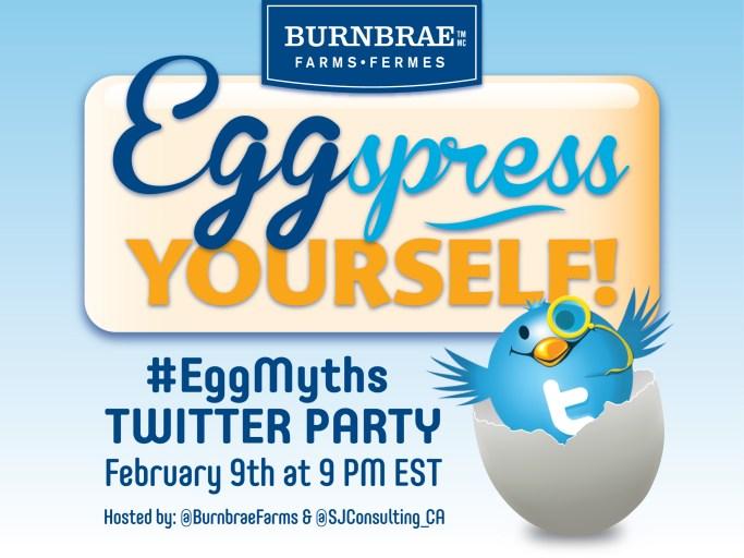 Egg Myth twitter party
