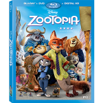 Zootopia Blu-ray Combo Pack and Digital HD