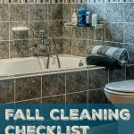 Fall Cleaning checklist