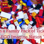 Win a Family Pack of Tickets to LEGO Imagine Nation Tour #LEGOTour
