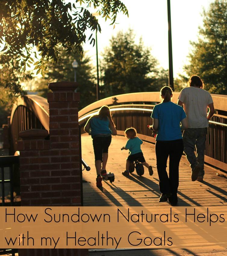 How Sundown Naturals Helps with my Healthy Goals