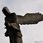 Monumento a las víctimas de la masacre de Katyn (Breslavia, Polonia)