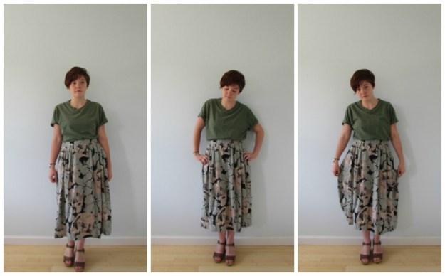 long skirt a
