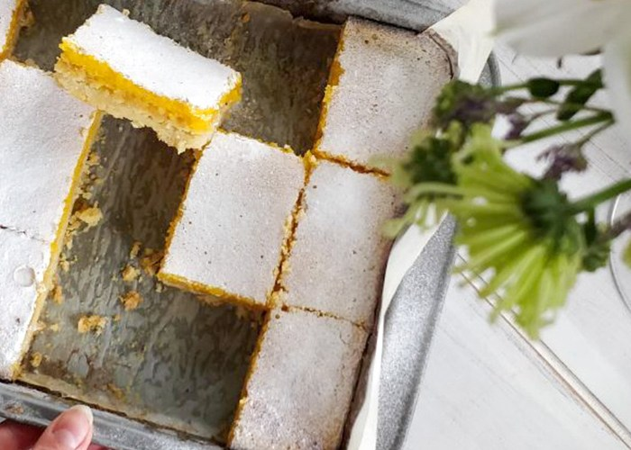 Luscious Lemon Bars Recipe