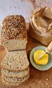 Easy Seeded sandwich bread