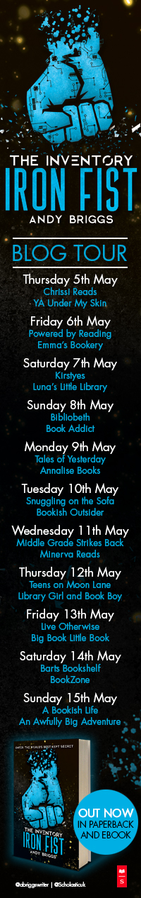 Iron Fist blog tour banner