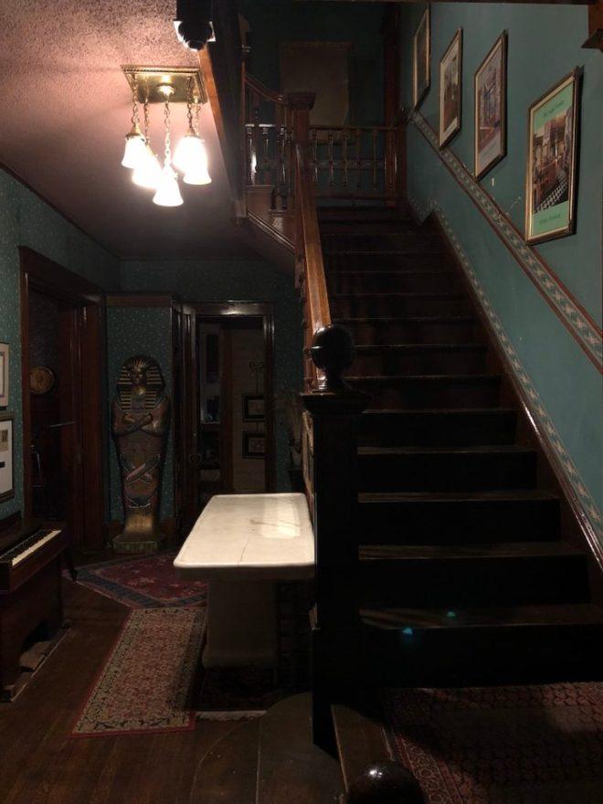 Inside the Stone Lion Inn - photo by Dennis Spielman