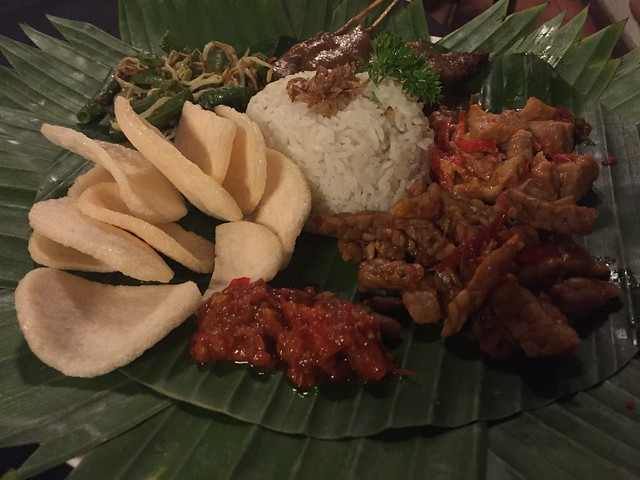 Nasi Campur a must try food in Bali