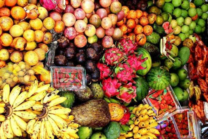 Indonesian Fruit from the market