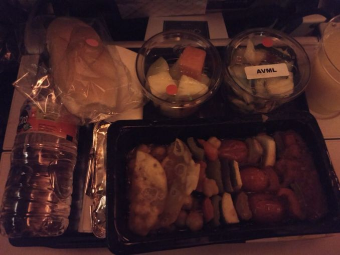 Qatar Asian Vegetarian Meal