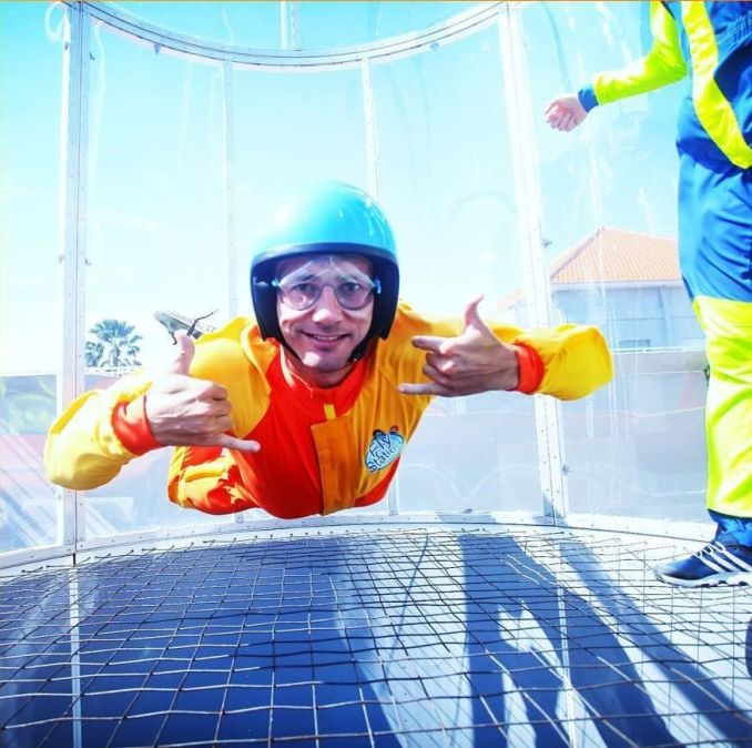 Indoor Skydiver Bali WIndtunnel