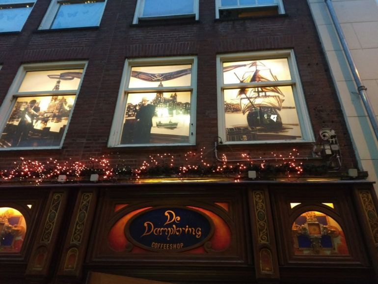 Amsterdam famous Coffeeshop Dampkring