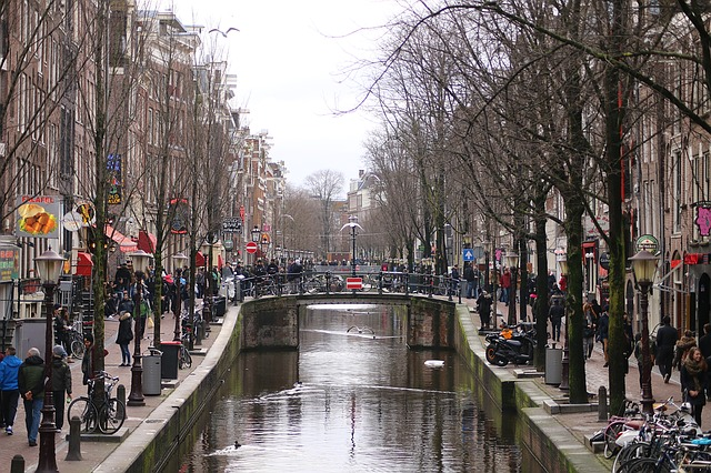 Walking in Amsterdam allows you to see the most of the city