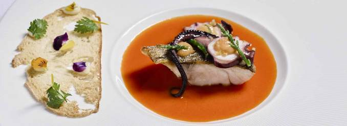 Nederlanden Michelin Star soup