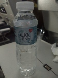 Alkaline water at Qatar