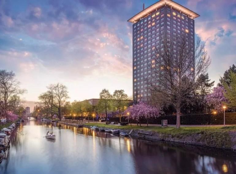 Romantic hotel Amsterdam