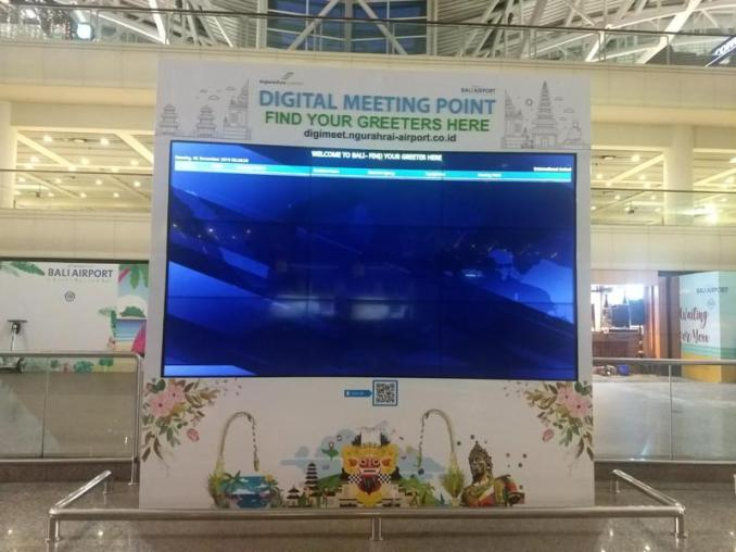 Digital Meeting Point Bali Airport