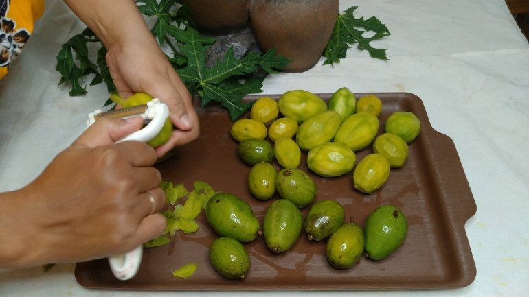 currint the fruit