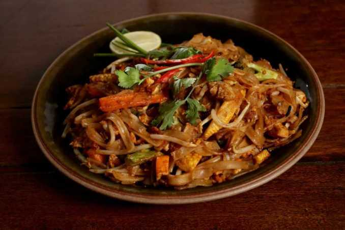 Pad Thai from Face Kitchen. Thai food in Jakarta